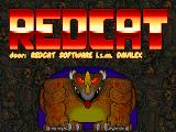RedCat DOS At the title screen you are greeted by a huge laughing mouse.