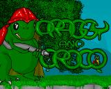 Draggy and Croco  Amiga Title screen