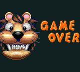 Baku Baku Animal Game Gear Game over