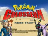 Pokémon Colosseum GameCube Title screen