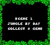 The Jungle Book Game Gear Scene 1