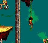 The Jungle Book Game Gear Climb up vines