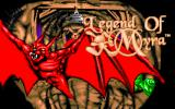 Legend of Myra DOS Title Screen 2