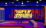 Super Jeopardy! DOS Title Screen