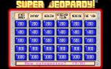 Super Jeopardy! DOS A Board with Six Categories