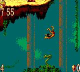 The Jungle Book Game Gear Use the snake as a spring