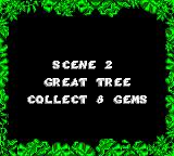The Jungle Book Game Gear The second level