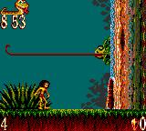 The Jungle Book Game Gear Use the lizards tongue as a platform