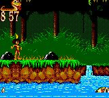 The Jungle Book Game Gear The third level