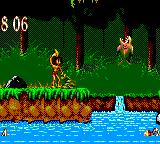 The Jungle Book Game Gear Time your jumps carefully