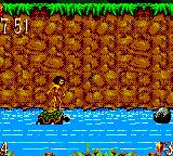 The Jungle Book Game Gear Hitch a lift on the Turtle