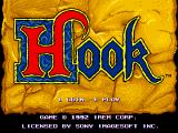 Hook Arcade Title screen (shown before any coins are inserted)