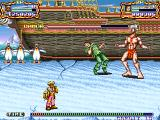 Hook Arcade This boss looks like a Dhalsim wanna be.
