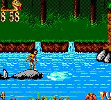 The Jungle Book Game Gear Ride Balloo downstream