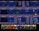 Cyber Kick Amiga Teleport station