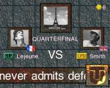 Ultimate Tennis Arcade French Open quarterfinal