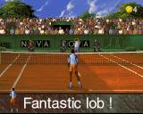 Ultimate Tennis Arcade Replay showing a fantastic lob and my opponent's frustration