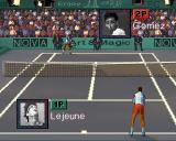 Ultimate Tennis Arcade Two player match
