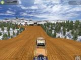 TrackMania United Forever Windows Snow: Landing