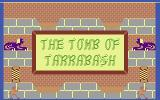Tomb of Tarrabash Commodore 16, Plus/4 Title Screen