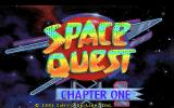 Space Quest I: Roger Wilco in the Sarien Encounter DOS Title screen 1
