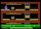 Nuclear Adventure or the North Base Atari 8-bit Elevator room
