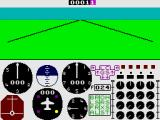 747 Flight Simulator ZX Spectrum On the runway