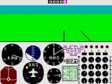 747 Flight Simulator ZX Spectrum Taking-off
