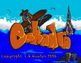 Eskadra Amiga Title screen