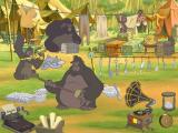 Disney's Activity Centre: Tarzan Windows Trash the Camp is a music making game where the player generates a tune by giving gorillas different objects