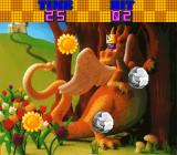 Honey Doll Arcade Type 1 bonus stage: collect the sunflowers, avoid the rocks