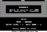 BoxWorld Apple II Title screen