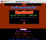 BoxWorld Macintosh Title screen