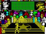 Popeye 3: WrestleCrazy ZX Spectrum Lets wrestle