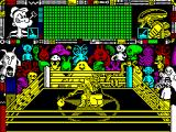 Popeye 3: WrestleCrazy ZX Spectrum Got him in a head-lock