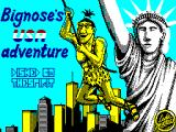 Big Nose's American Adventure ZX Spectrum Loading Screen
