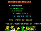 Big Nose's American Adventure ZX Spectrum Title Screen