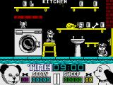 Sooty & Sweep ZX Spectrum Kitchen
