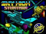 Sky High Stuntman ZX Spectrum Loading Screen