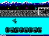 World Games ZX Spectrum Barrel Jumping