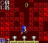 Sonic the Hedgehog 2 Game Gear Use the springs to jump higher