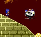 Sonic the Hedgehog 2 Game Gear Let Robotnic do it