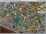 SimCity 2000 Macintosh A thriving city