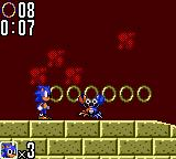 Sonic the Hedgehog 2 Game Gear A robot crab