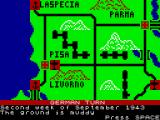 Avalanche: The Struggle for Italy ZX Spectrum German turn