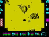 Phileas Fogg's Balloon Battles ZX Spectrum Flying over the enemy