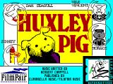 Huxley Pig ZX Spectrum Loading Screen