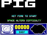 Huxley Pig ZX Spectrum Title Screen