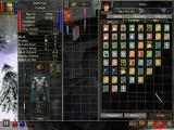Dungeon Siege: Legends of Aranna Windows Temples offer various potions, spells and spell books; the interface looks like a mess though