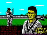 World Cricket ZX Spectrum Loading Screen